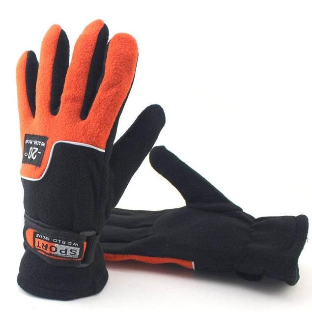 Outdoor Riding Women's Fleece Warm Gloves
