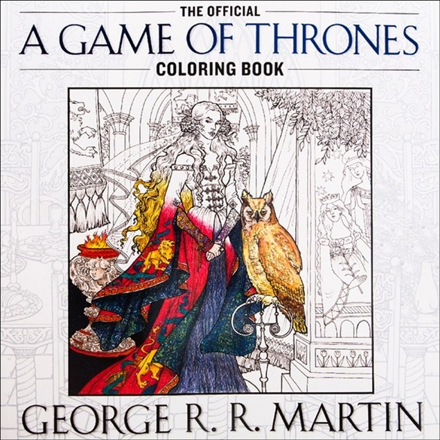 Game of Thrones Coloring Book,  by Random House