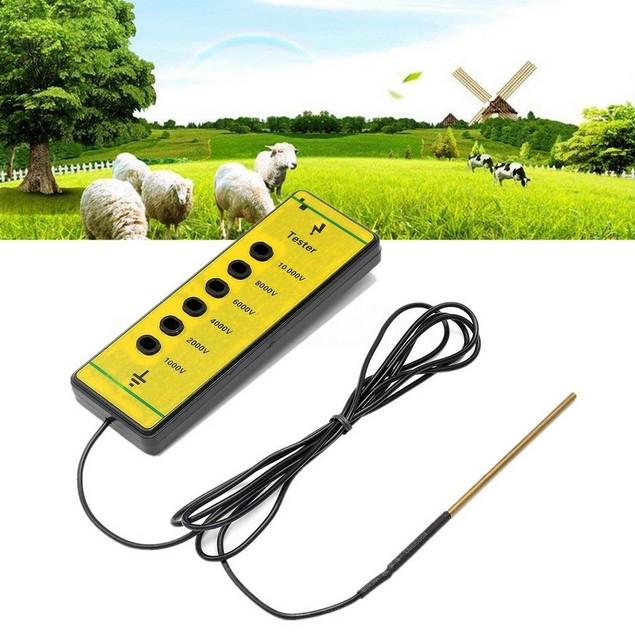 Electric Fence Voltage Tester 1000V - 10,000V