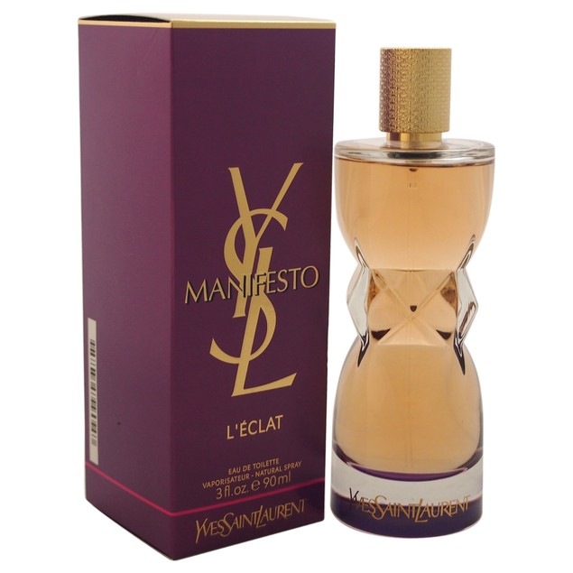Manifesto L'Eclat Yves Saint Laurent 3oz EDT Spray
