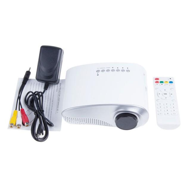 Multimedia Cinema LED Projector HD 1080P Support AV TV VGA USB HDMI SD