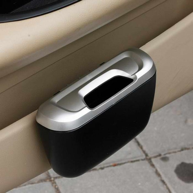 Mini Auto Car vehicle Trash Rubbish Can Garbage Dust Case Holder Box