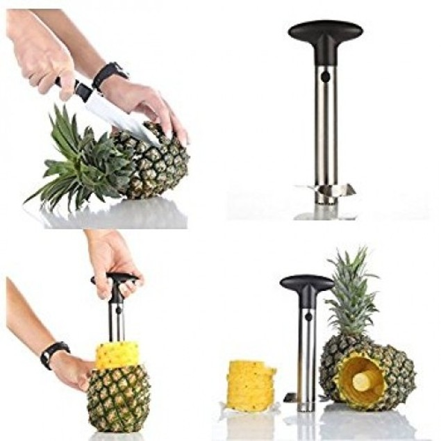 Heavy Duty Stainless Steel Pineapple Slicer