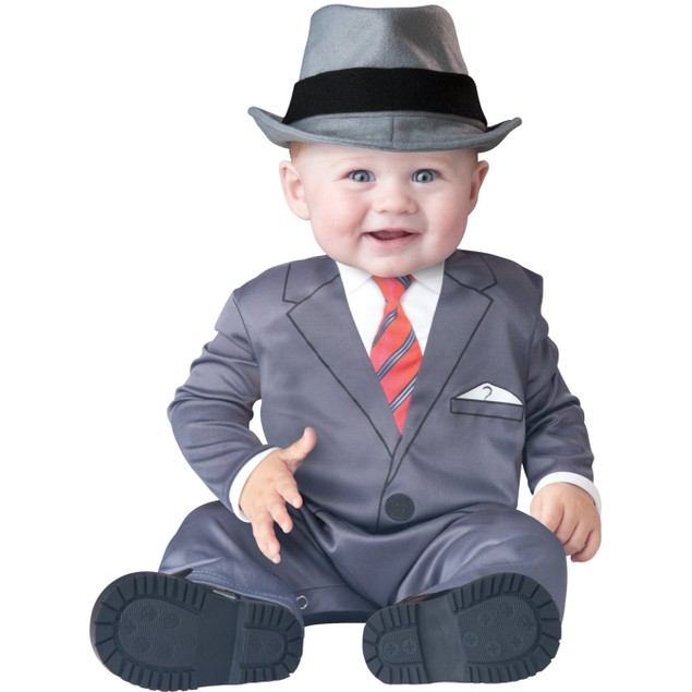 Baby Boss Business Suit And Hat Baby Costume