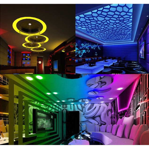 SMD Lights String Lights 5M 3528 RGB LED Strip Strip Strip Strip Lights