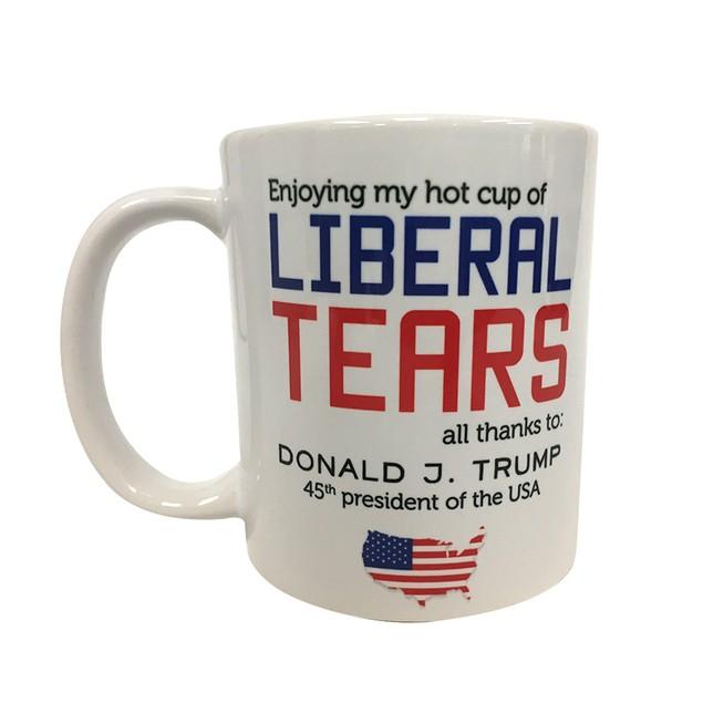 Hot Cup Of Liberal Tears 11 oz Coffee Mug