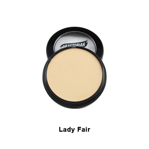 Lady Fair HD Glamour Creme Foundation 5oz. Graftobian Cruelty Free USA