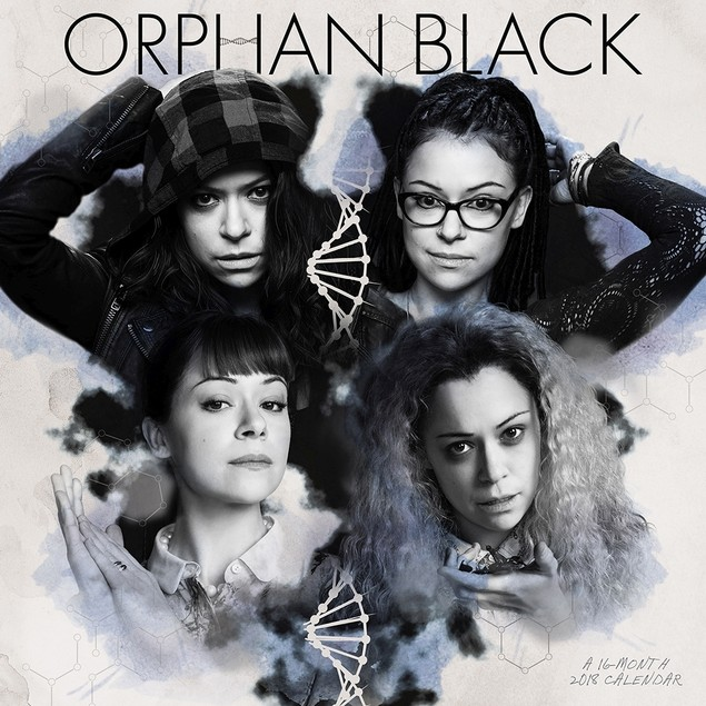 Orphan Black Wall Calendar, Sci-Fi TV by ACCO Brands