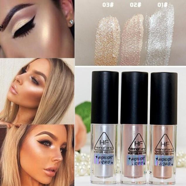Makeup Highlighter Liquid Face Eye Contour Brighten Glow Cosmetics