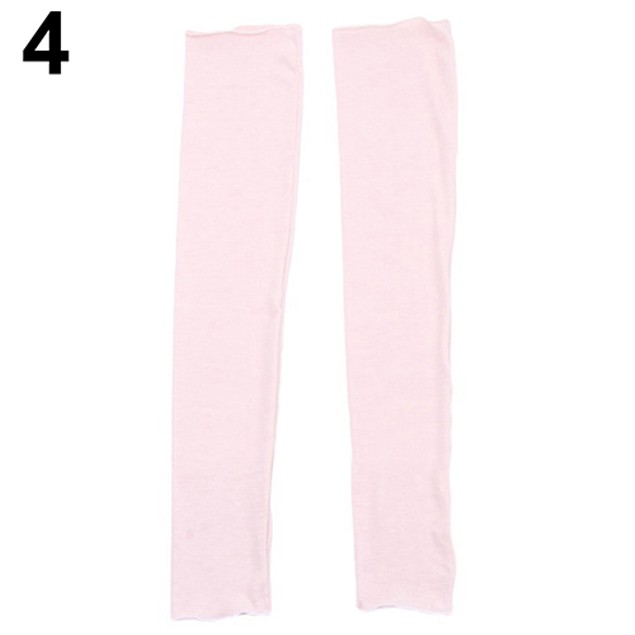 Women Fashion Arm Warmer Long Fingerless Gloves