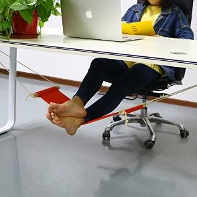 Foot Rest Desk Hammock