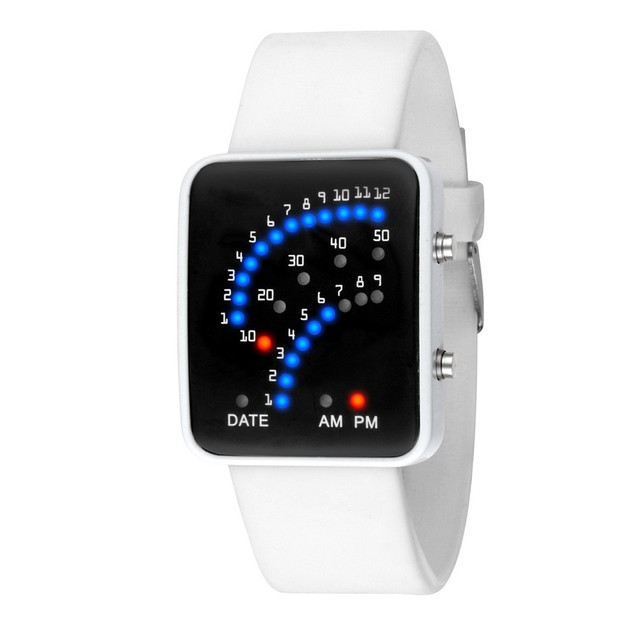 Unisex Japanese Style Multicolor LED Sport Watch - Choose Your Color