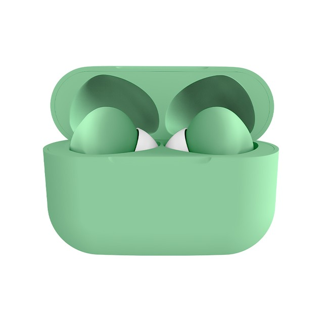 New Generation Rubber Matte Wireless Earbuds   Bold & Bright Colors
