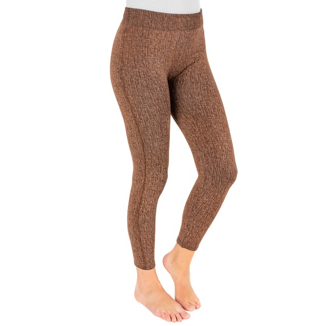 MUK LUKS ® Women's Fleece-Lined Faux Denim Legging