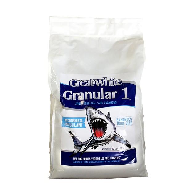 Great White Granular 1, 20 lbs