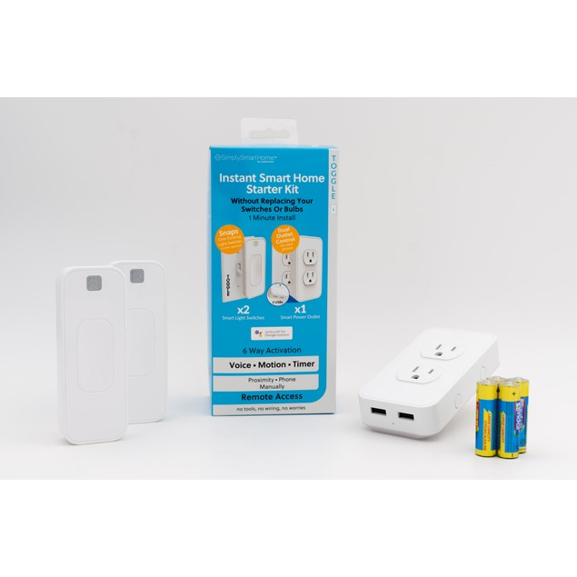 Switchmate Home Automation Kit with Motion Detection + Smart Power Outlet