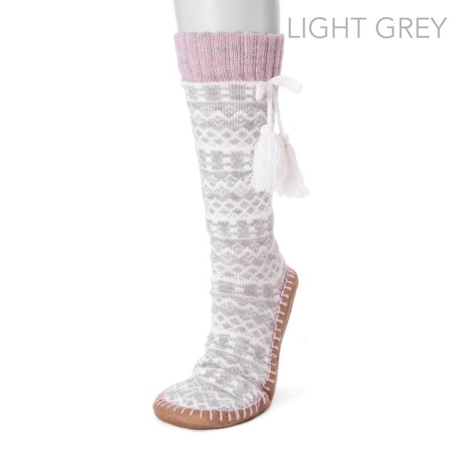 MUK LUKS ® Women's Slipper Socks with Tassels