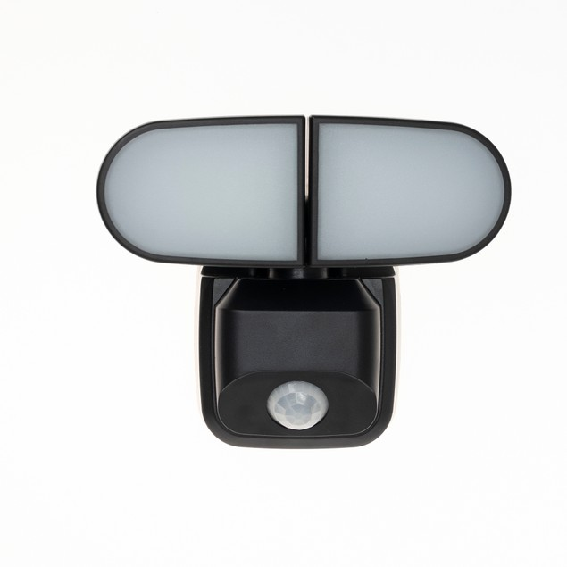 Luxworx Dual Head Battery Motion Sensor Security Light