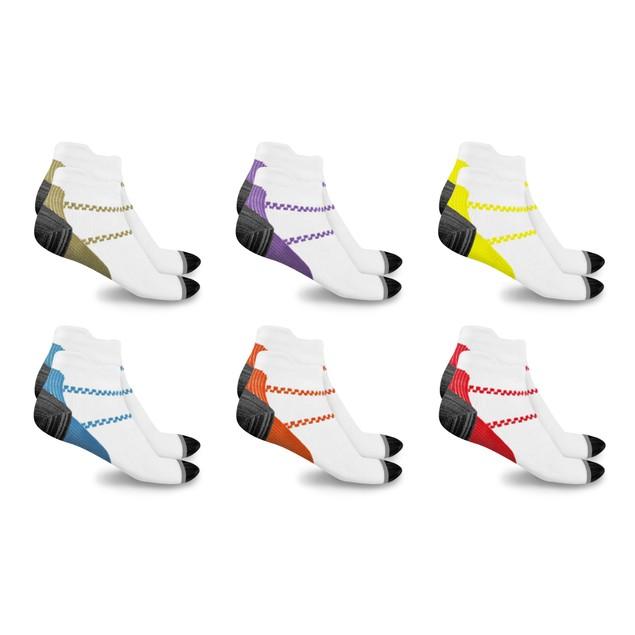 xFit Ankle-Length Unisex Compression Socks (6 Pairs)