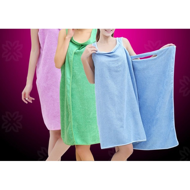 Womens Wearable Absorbent Microfiber Towel
