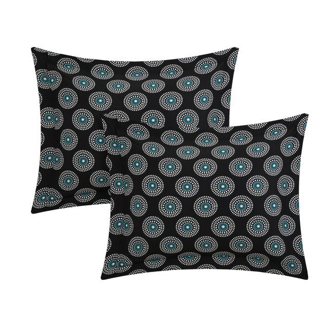 Chic Home 4 Piece Cordoba Paisley Print REVERSIBLE Quilt Cover Set