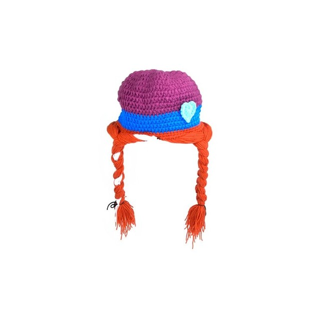 Hand-made Knit Polyester Kid's Character Hat