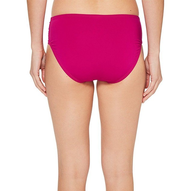 Tommy Bahama Women's Pearl High-Waist Side-Shirred Bikini Bottom Sz: S