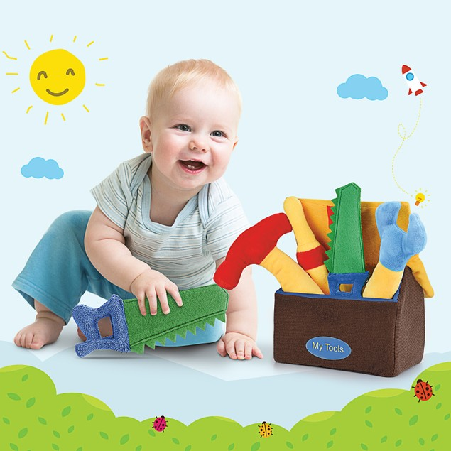 Hakol Plush Kids Learning Tool Toys - Colorful and Soft With Sounds