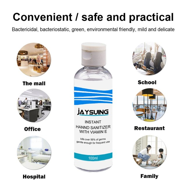 Portable No-wash Quick-drying Hand Sanitizer Soothing Gel 30/50/100ML