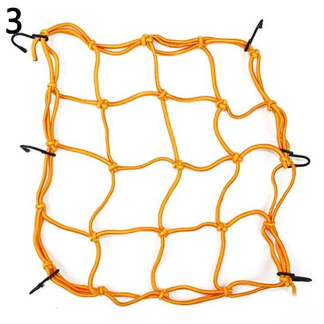 6 Hook Mesh Bag String Luggage Holder Bungee Net Rope