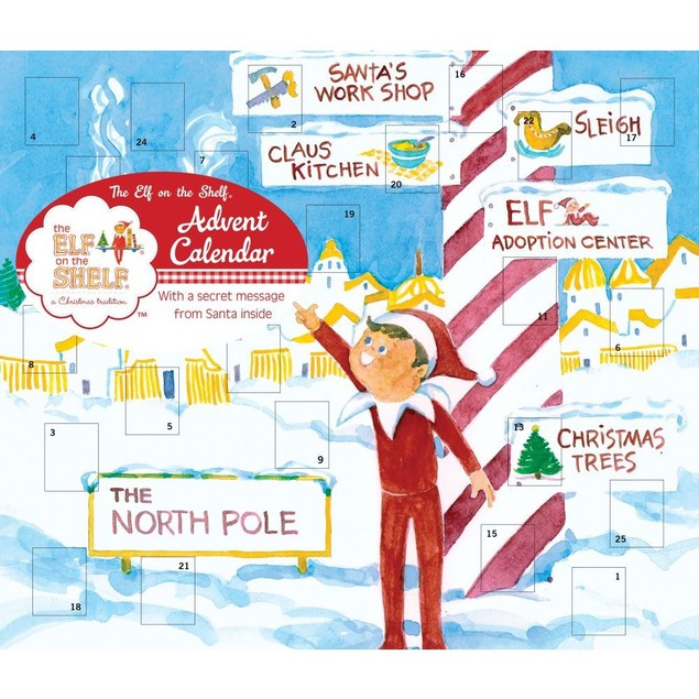 Elf on the Shelf Advent Calendar, Advent Calendars by Andrews McMeel Publis