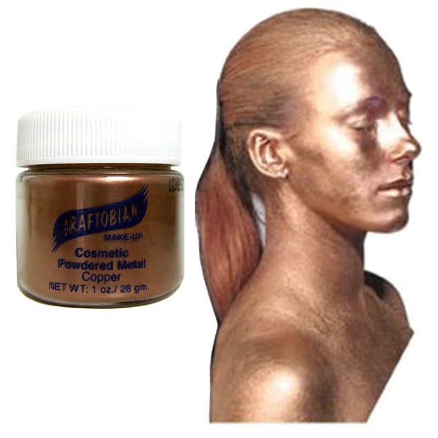 Copper Cosmetic Powdered Metals 1oz.