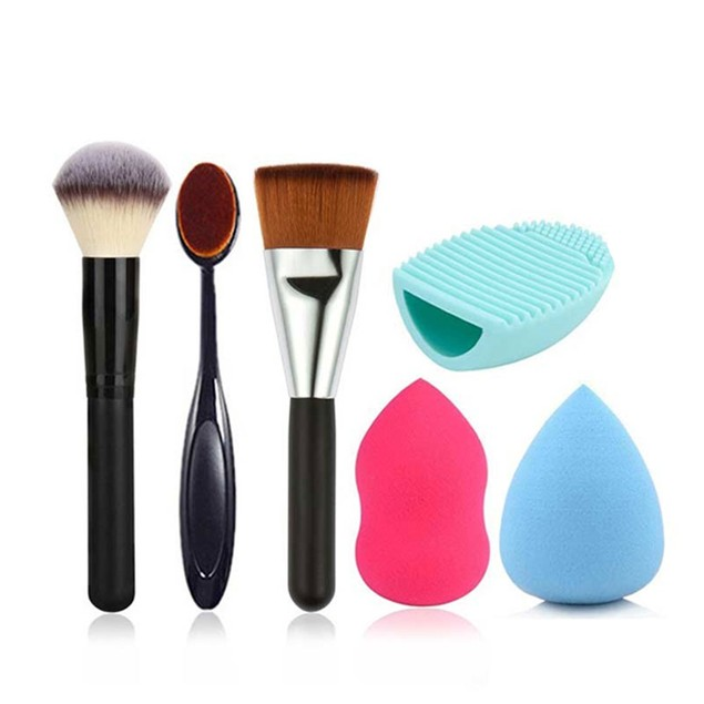 High Coverage Brush & Sponge Combo