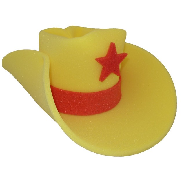 30 Gallon Giant Foam Cowboy Hat