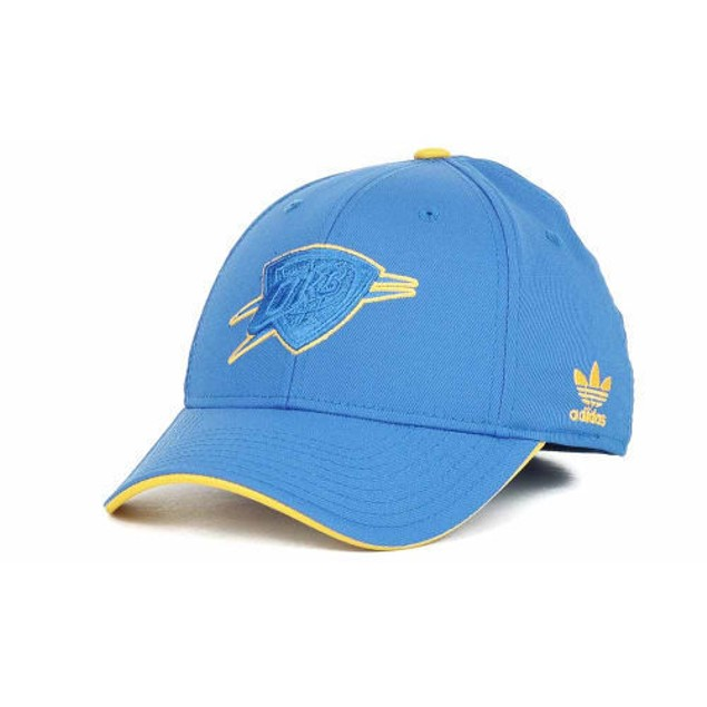 Oklahoma City Thunder NBA Adidas Stretch Fitted Hat