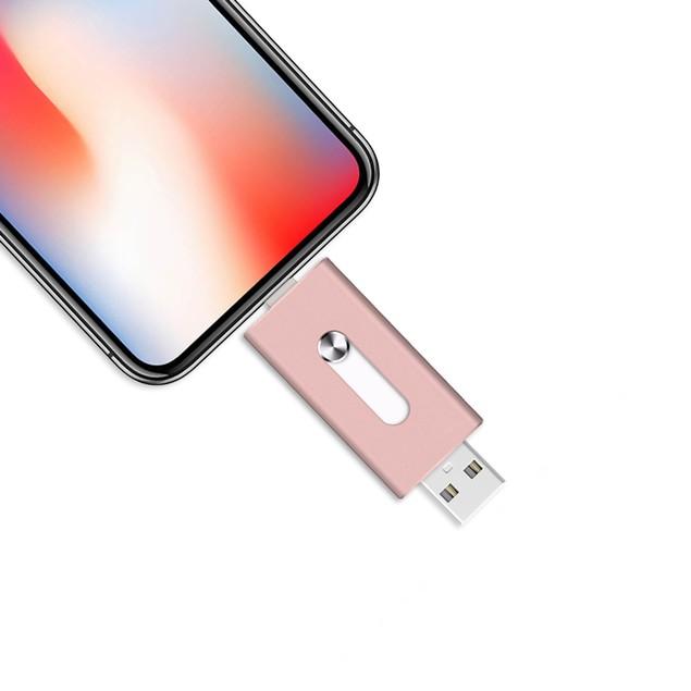 3 in 1 USB Storage Flash Drive