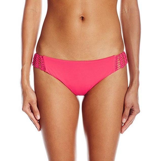 Billabong Women's Hippie Hooray Hawaii Bikini Bottom, Wild Berry, Larg
