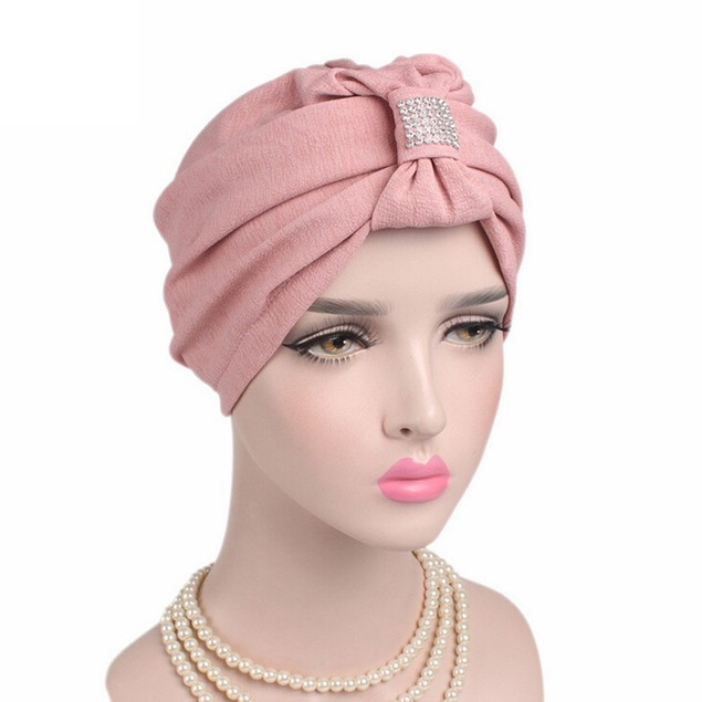 Women Cancer Chemo Hat Beanie Scarf Turban Head Wrap Cap H