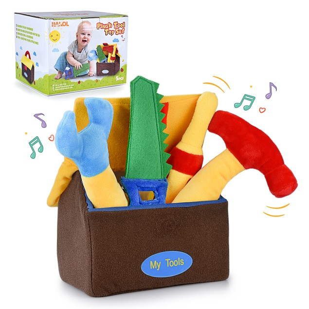 Plush Kids Learning Educative Tool Toys - Colorful, Soft, Cute, With Sounds
