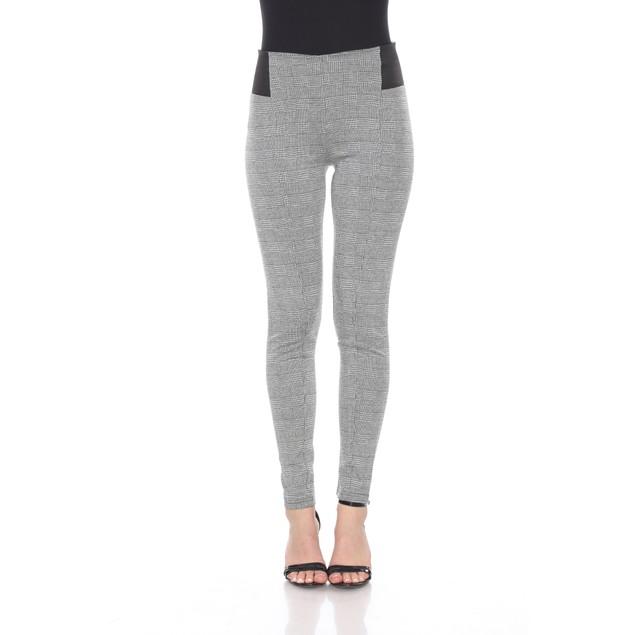 Jacquard Slim Pants - 2 Prints - Extended Sizes