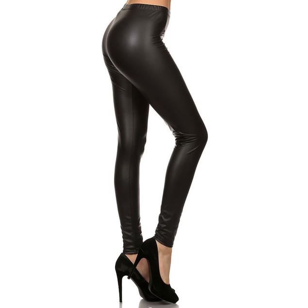Women's Faux Leather Leggings