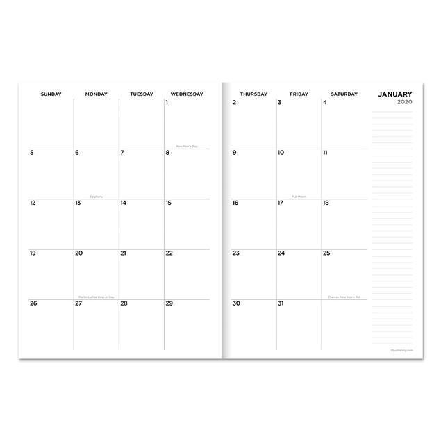 2020 Medium Monthly Planners