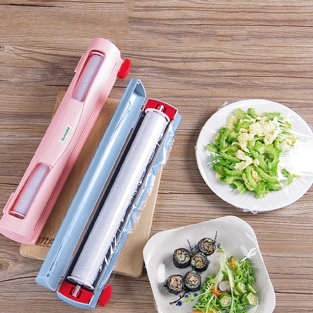 Fresh Food Fruit Keep Plastic Wrap Film Cutter Kitchen Cutting Tool