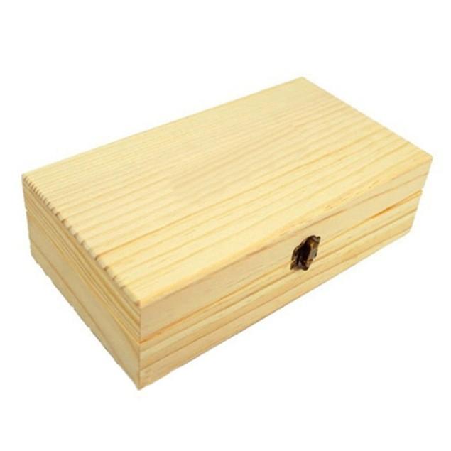 25 Aromatherapy Essential Oil Bottle Wooden Storage Organizer Case Box