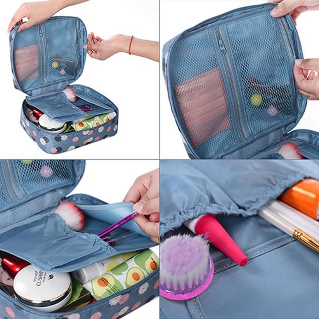 Travel Cosmetic Toiletry Organizer Storage Pouch