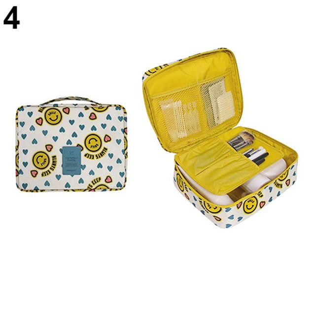 Travel Cosmetic Toiletry Case Wash Organizer Storage Pouch Hanging Bag