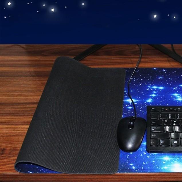 Pattern Anti-slip Laptop Computer Gaming Mouse Pad Keyboard Mat