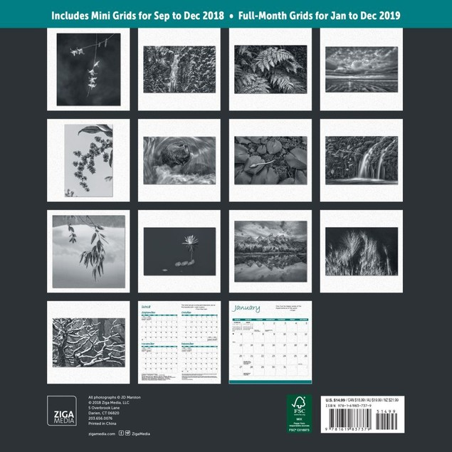 Zen Wall Calendar, Eastern Religion by Calendars