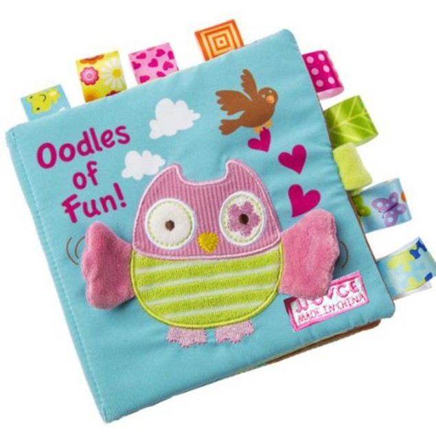 Animal Puzzle Cloth Baby Book for Learning
