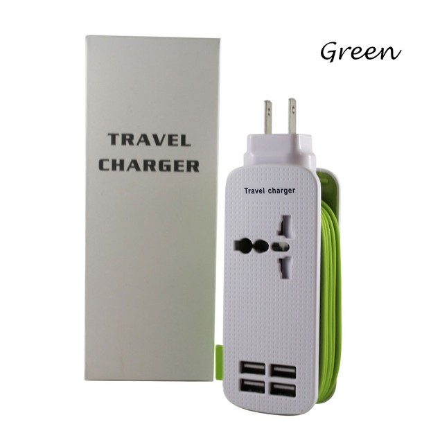 Universal Travel Charger - 5 Colors